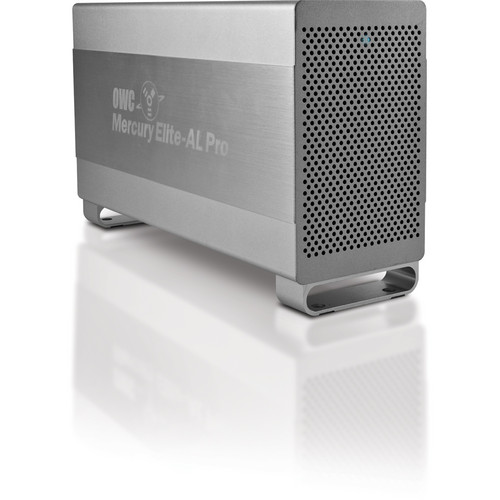 OWC / Other World Computing 2 TB Mercury Elite-AL Pro Quad Interface External Dual Drive Array with RAID 0