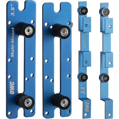 "OWC / Other World Computing OWC Multi-Mount 2.5"" to 3.5"" and 3.5"" to 5.25"" Bracket Set"