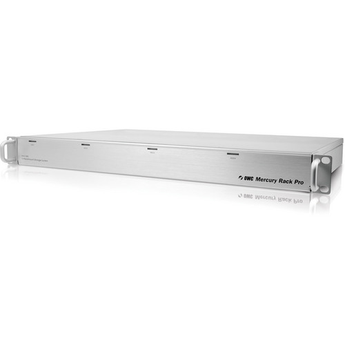 OWC / Other World Computing Mercury Rack Pro 4TB (4 x 1TB) Four-Bay 1U Rack SAS Storage Solution