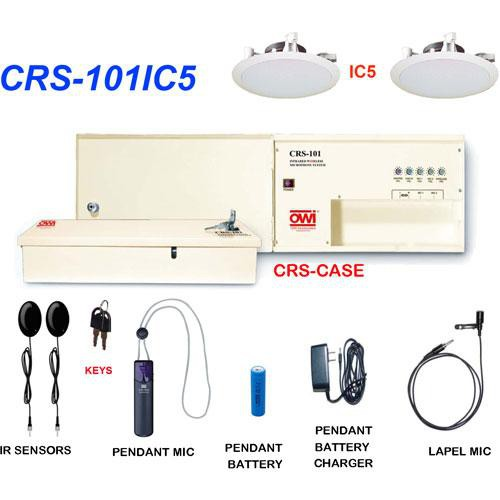 OWI Inc. CRS-101IC5 Infrared Wireless Microphone & Speaker Package
