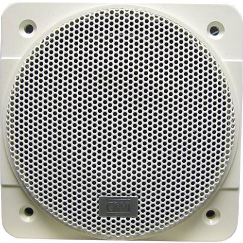 owi inc m4f kitchen amp bath speaker white m4f b amp h photo