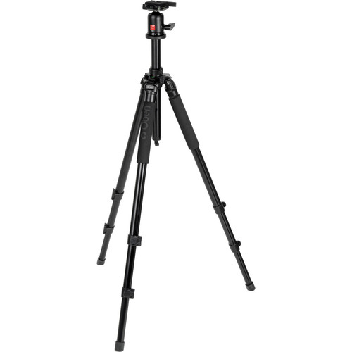 Oben AC-1320 3-Section Aluminum Tripod with BA-1 Ball Head