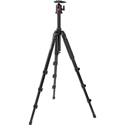 Oben AC-1420 4-Section Aluminum Tripod with BA-1 Ball Head