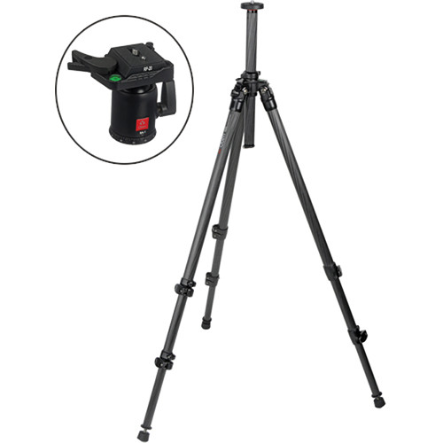 Oben CC-2310 3-Section Carbon Fiber Tripod with BA-2 Ball Head Kit