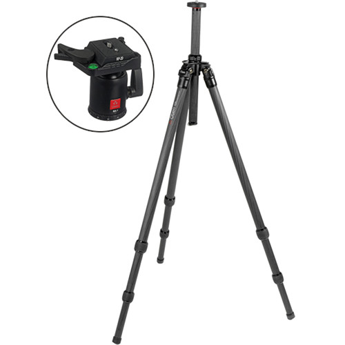 Oben CT-2310 3-Section Carbon Fiber Tripod with BA-2 Ball Head Kit