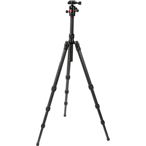 Oben CT-3410 4-Section Carbon Fiber Folding Tripod with BB-0T Ball Head