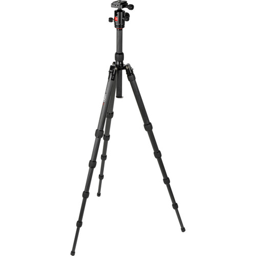 Oben CT-3510 5-Section Carbon Fiber Folding Tripod with BB-0T Ball Head