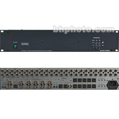 Ocean Matrix OMX-7003 1x10 Distribution Amplifier