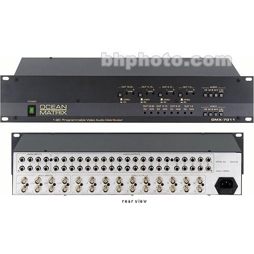 Ocean Matrix OMX-7011 1x20 Distribution Amplifier, AV