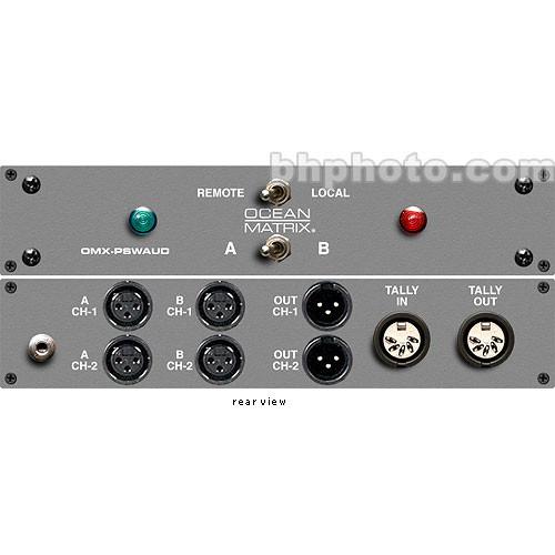 Ocean Matrix OMX-PSWAUD Passive Audio Switcher A/B