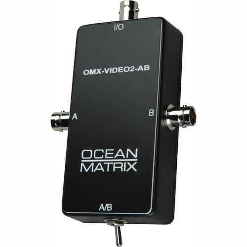 Ocean Matrix Composite Video BNC Input Expander Switch
