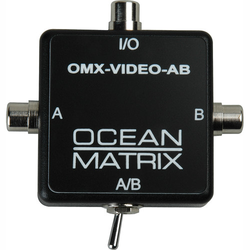 Ocean Matrix OMX-VIDEO-AB Composite Video RCA Input Expander Switch