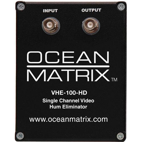 Ocean Matrix VHE-100-HD Video Hum Eliminator (Black)
