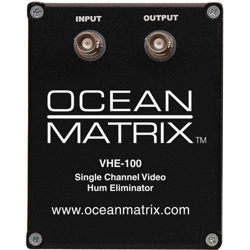 Ocean Matrix VHE-100 Video Hum Eliminator (Black)