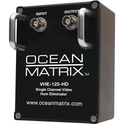 Ocean Matrix VHE-125-HD Video Hum Eliminator (Black)