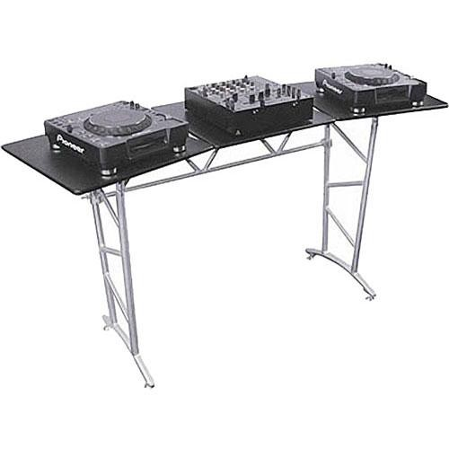 Odyssey Innovative Designs ATT2 - Folding DJ Truss Table with Angle Adjustable Sides