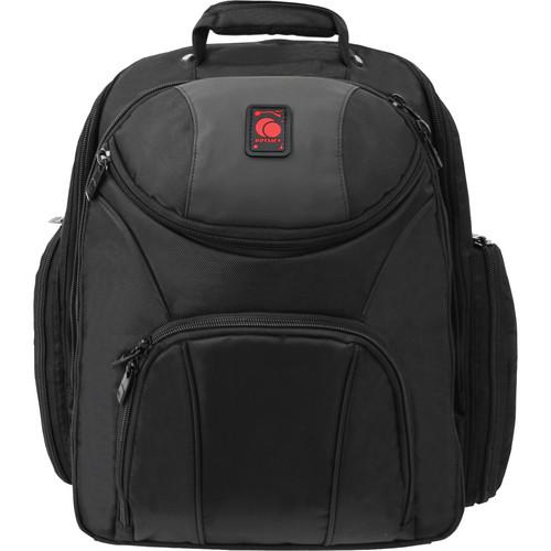 "Odyssey Innovative Designs Redline Series ""BACKSPIN 2"" Digital Gear Backpack (Black)"