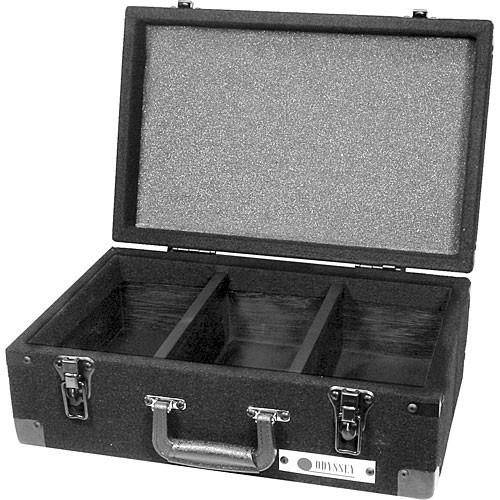 Odyssey Innovative Designs CCD225E Carpeted CD Case (Black)