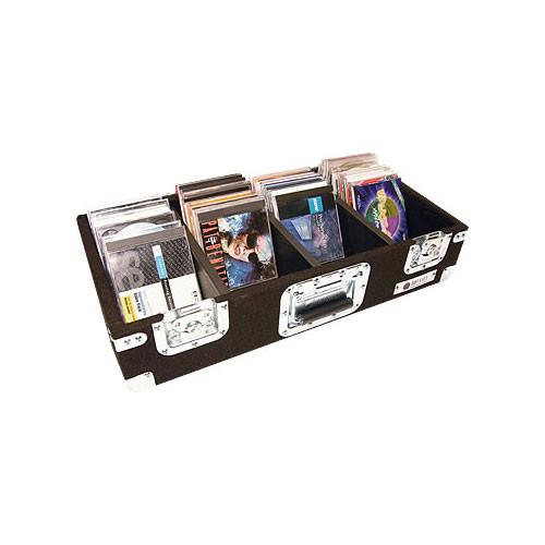 Odyssey Innovative Designs CCD300P Pro Carpeted CD Case (Black)