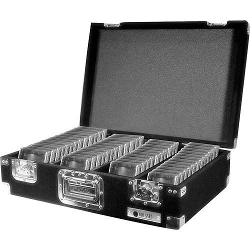 Odyssey Innovative Designs CCD450P Pro Carpeted CD Case (Black)