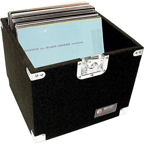 Odyssey Innovative Designs CLP100P Pro Carpeted LP Case