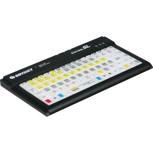 Odyssey Innovative Designs Control SL Serato Backlit Keyboard