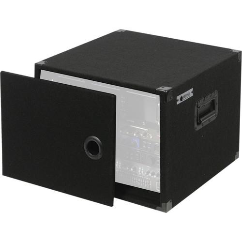 Odyssey Innovative Designs CRE08 Carpeted Econo Rack Case (Black)