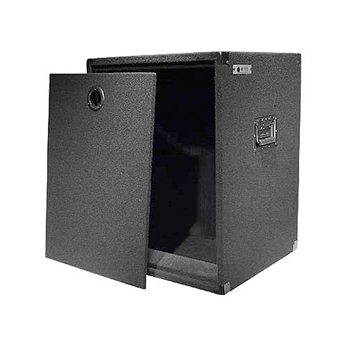Odyssey Innovative Designs CRE14W Carpeted Econo Rack Case (Black)