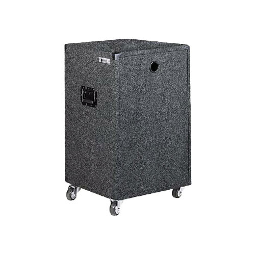 Odyssey Innovative Designs CRE18W Carpeted Econo Rack Case (Black)