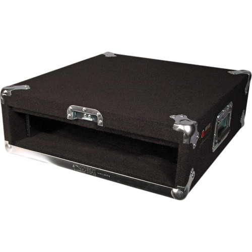 Odyssey Innovative Designs CRP02 Carpeted Rack Case (Black)
