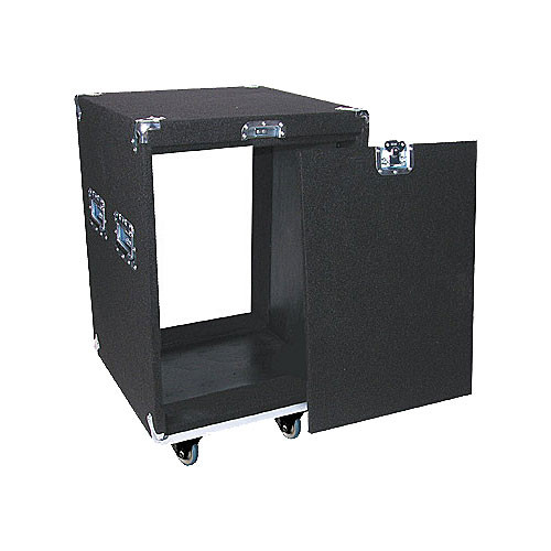 Odyssey Innovative Designs CRP14W Carpeted Rack Case (Black)