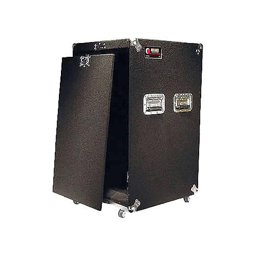 Odyssey Innovative Designs CRP18W Carpeted Rack Case (Black)