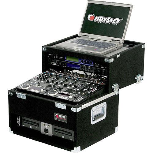 Odyssey Innovative Designs CSL2802 Carpeted Slide Style Mixer Laptop Case