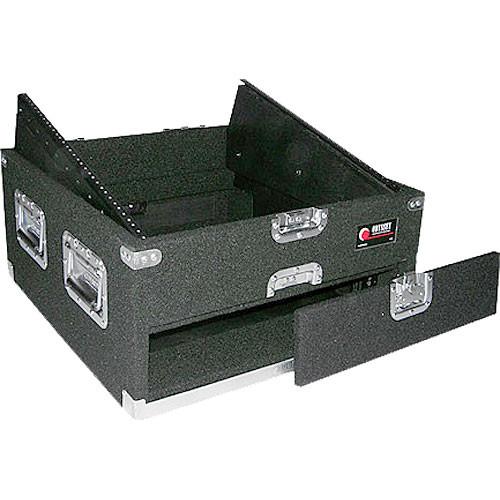 Odyssey Innovative Designs CXP1102 Carpeted Console Rack Case {Black}
