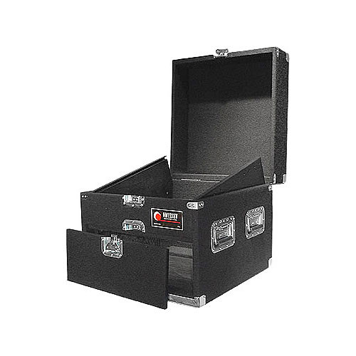 Odyssey Innovative Designs CXP1104 Carpeted Console Rack Case {Black}