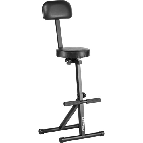 Odyssey Innovative Designs Adjustable DJ Chair (Black)