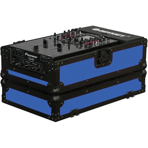 Odyssey Innovative Designs FR10MIXBKBLUE Flight Ready DJ Mixer Case (Black and Blue)