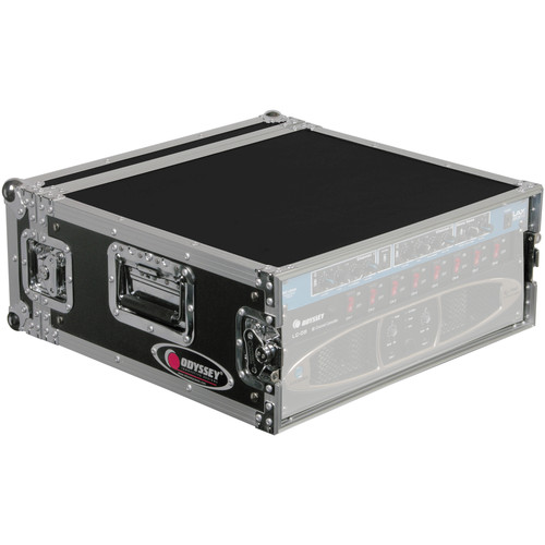 Odyssey Innovative Designs FRAR4E Flight Ready E Series Amp Rack Case