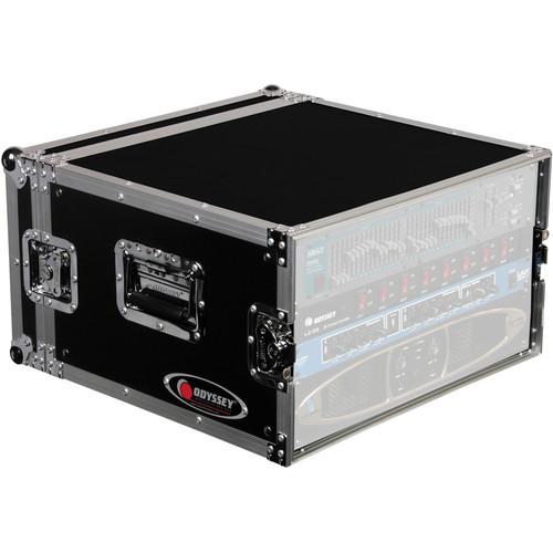 Odyssey Innovative Designs FRAR6E Flight Ready E Series Amp Rack Case