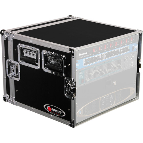 Odyssey Innovative Designs FRAR8E Flight Ready E Series Amp Rack Case