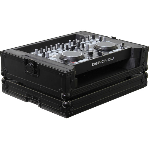 Odyssey Innovative Designs FRDNMC36000BL Denon DN-MC3000/6000 DJ MIDI Controller Flight Ready Black Label Series Case (Black)