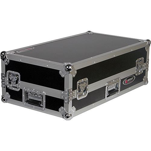 Odyssey Innovative Designs FRGS10CDIW Flight Ready Glide Style DJ Medium Format CD Coffin Case