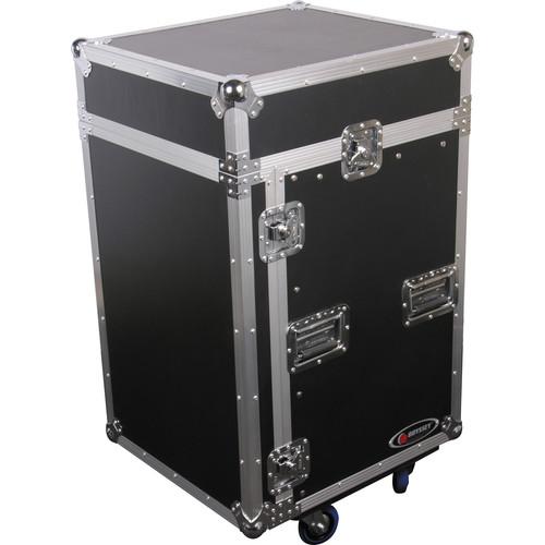 Odyssey Innovative Designs FZ1014W Flight Zone ATA Combo Rack Case