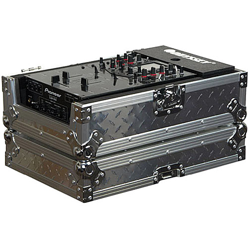 "Odyssey Innovative Designs FZ10MIXDIA Flight Zone Case for 10"" Wide DJ/Audio Mixer"