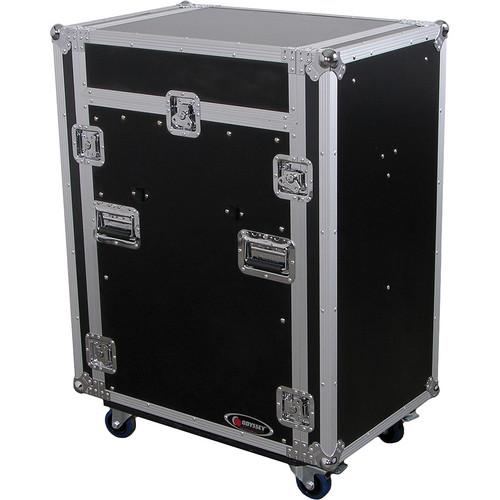 Odyssey Innovative Designs FZ1316WDLXII Flight Zone DLX II Combo Rack Case