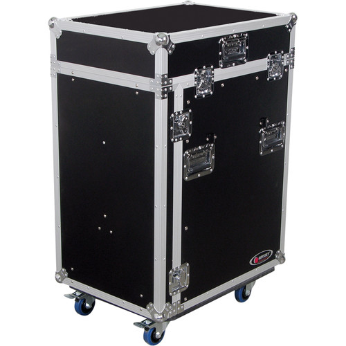 Odyssey Innovative Designs FZ1316WDLX Flight Zone ATA DLX Combo Rack Case