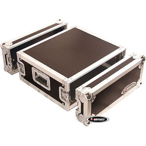 Odyssey Innovative Designs FZAR4 Flight Zone Four Space Amp Rack Case