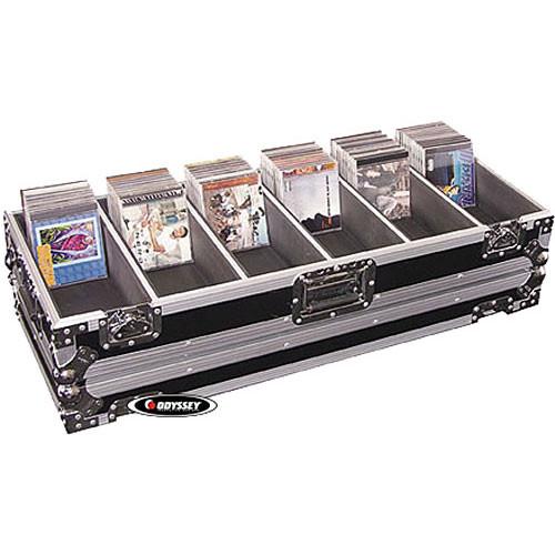 Odyssey Innovative Designs FZCD480 Flight Zone CD Case - for up to 480 CD's