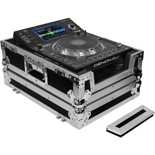 Odyssey Innovative Designs FZCDJ Flight Zone Large Format CD Player Case (Black)