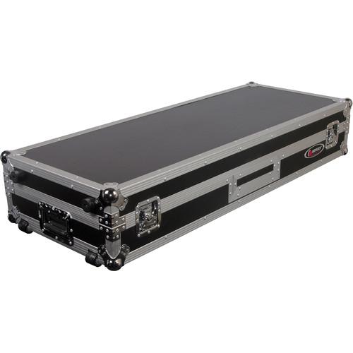 """Odyssey Innovative Designs FZDJ10W Flight Zone DJ 10"""" Mixer Turntable Coffin Case with Wheels"""
